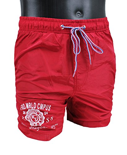 costume-mare-uomo-austar-yachting-rosso-pantaloncino-boxer-slim-fit-aderente-xl