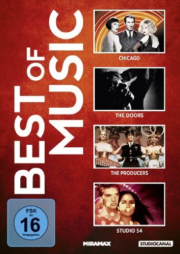 Best of Music: Chicago / Studio 54 / The Doors / The Producers - Frühling für Hitler [4 DVDs]