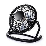 CSL - Ventilador USB | ventilador de mesa / ventilador | PC / port�til | en negro
