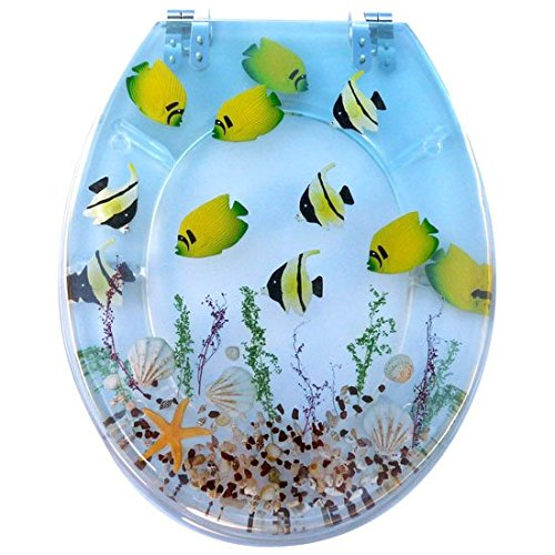 Tropical-Fish-Resin-Toilet-Seats