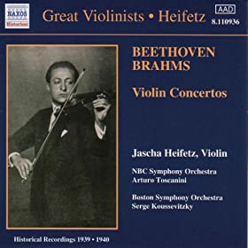 Beethoven / Brahms: Violin Concertos (He