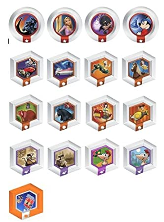Disney Infinity Series 3 Complete Set [All 17 Power Discs]