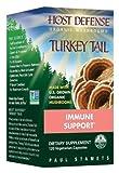 Host Defense Organic Mushrooms - Host Defense Turkey Tail Mushrooms, 120 veggie caps