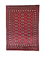 L'Eden del Tappeto Alfombra Kashmirian Rojo / Azul 137 x 187 cm