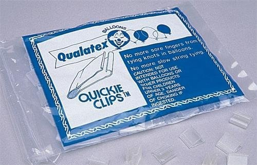 Quickie Balloon Clips - 100/pk - 1