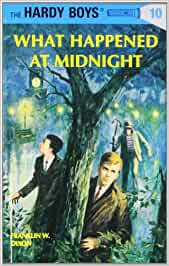 THE HARDY BOYS~#10-WHAT HAPPENED AT MIDNIGHT~1977~HARDCOVER~FRANKLIN W. DIXON