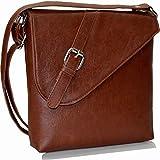 Svaan Women's Sling Bag (Tan) (SBG007G)