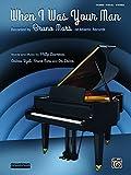 When I Was Your Man: Piano/Vocal/Guitar (Sheet)