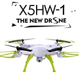 Voomall Syma X5HW FPV 2.4G 4CH 6 Axis Gyro RC Quadcopter Drone With 0.3MP HD WiFi Camera &Height Hold Mode White