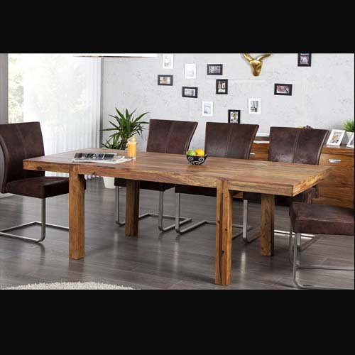 esstisch bonjanna echtholz massivholz sheesham 120cm. Black Bedroom Furniture Sets. Home Design Ideas