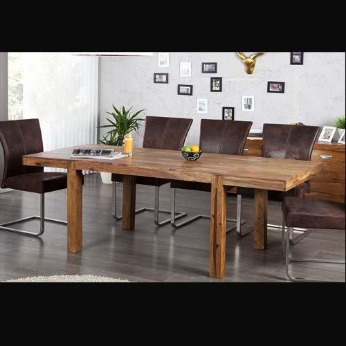 esstisch bonjanna echtholz massivholz sheesham 120cm ausziehbar bis 200cm com forafrica. Black Bedroom Furniture Sets. Home Design Ideas