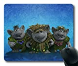Trolls Frozen Disney Movie Custom Rectangle Mouse Pad by How Easy