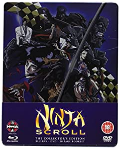 Ninja Scroll Blu-ray/DVD Steelbook