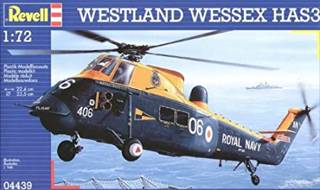 Revell - 4439 - Maquette d'Avion - Westland Wessex HAS 3 Royal Navy