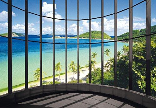 Carta da parati fotografica Paradise Penthouse 366x 254cm carta da parati spiaggia, mare Ausblick Deco. deals