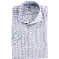 (フェアファクス)FAIRFAX グラフチェック半袖ドレスシャツ