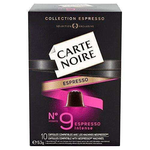Tassimo Coffee Maker Asda : Carte Noire Espresso Number 9 Intense 10 Coffee Capsules 53 g (Pack of 4)