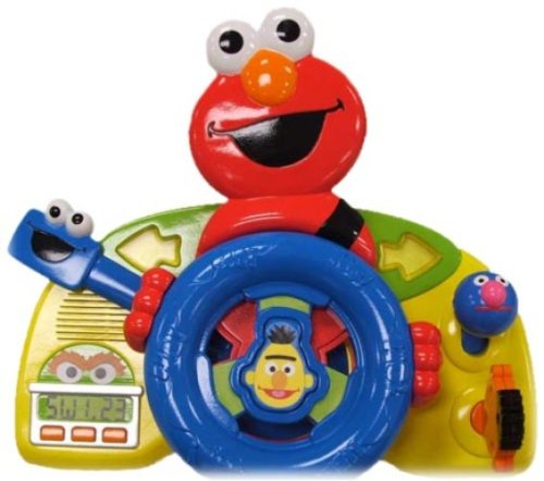 Fisher-Price Sesame Street Giggle N Go Driver - Elmo - 1