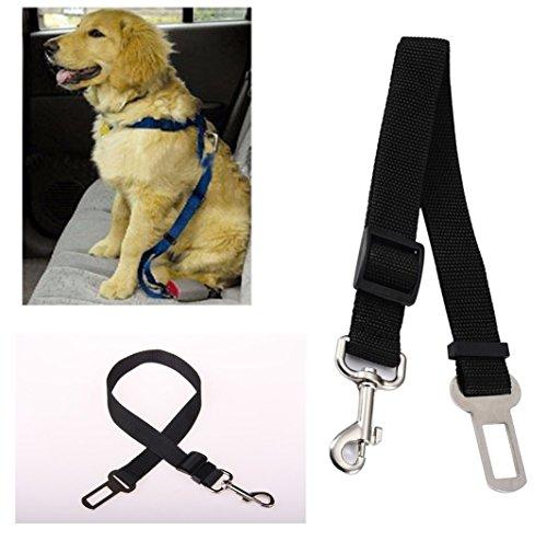 Nido del Bimbo 1027 - Cintura di Sicurezza Auto per Animali con Gancio quinzaglio - Lunghezza Regolabile