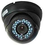 51rTs1Cy6aL. SL160  VideoSecu CCD IR Outdoor Day Night Vision CCTV Security Camera Vandal Proof Weatherproof 4 9mm Varifocal Lens 36 Infrared LEDs 1Z6