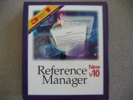 Reference Manager 10.0