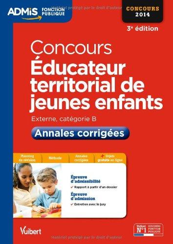 Concours Éducateur territorial de jeunes enfants