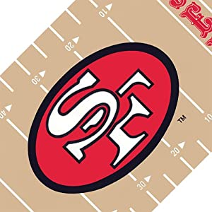 NFL San Francisco 49ers Football Wall Border - Peel and Stick