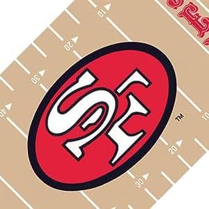 NFL San Francisco 49ers Football Wall Border - Peel and Stick