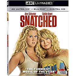 Snatched [4K Ultra HD + Blu-ray]