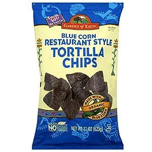 Garden of Eatin' Blue Corn Tortilla Chips, 22 Ounce (Pack of 10)