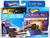 Hot Wheels Crash Test Playset + One Car