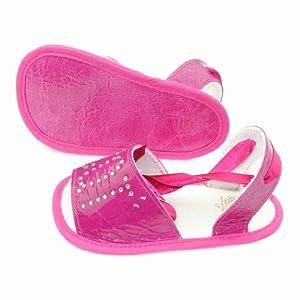 Cuquito - Zapatos primeros pasos para niña Fuxia Fuschia por CUQUITO - BebeHogar.com