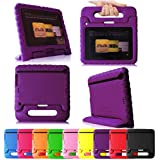 "Fintie (Purple) Casebot Kiddie Series Light Weight Shock Proof Handle Case for Kids Specially made for Kindle Fire HD 7 (will only fit Kindle Fire HD 7"" 1st Generation 2012)"