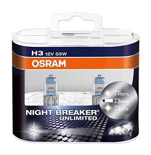 Osram-64151NBU-HCB-Night-Breaker-Unlimited-H3-Lampade-Alogene-per-Proiettori-Auto-12V-2-Pezzi