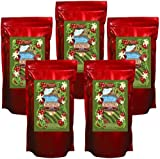 Hawaii Roasters Award Winning 100% Kona Coffee, Whole Bean, Medium Roast, 5 14-Ounce Bags