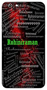Rohiniraman (The Enchanted Lord (Krishna)) Name & Sign Printed All over customize & Personalized!! Protective back cover for your Smart Phone : Samsung Galaxy E-7