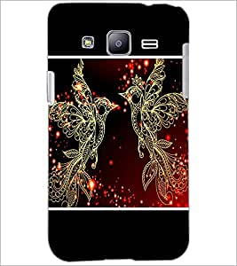 PrintDhaba Beautiful Birds D-1345 Back Case Cover for SAMSUNG GALAXY J2 (Multi-Coloured)