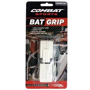 Buy Combat Ultra-Thin Leather Baseball Softball Bat Grip by Combat