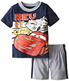 Disney Baby Boys' 2 Piece Cars Rev It Up Tee and Short