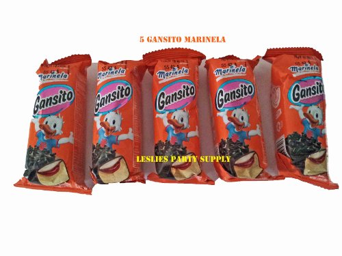 5 Gansito Marinela Filled Snack Cake (Marinela)