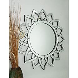 Sun Flower Wall Mirror VDR-434 (SIZE = 24