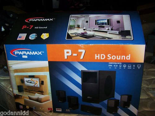Paramax P-509 Sound System
