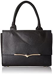 Ladida Womens Satchel (Black) (16255 BLACK)