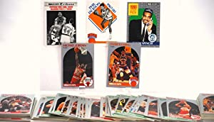 1990-91 - NBA Hoops - 123 Vintage Basketball Trading Cards - Parish / Michael Jordan / Danny Manning / Patrick Ewing / Tom Chambers / Malone / Ellison + Much More - Out of Production - Like New - Limited Edition - Collectible