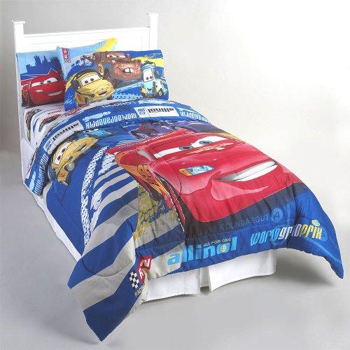 Disney- Pixar Cars 2 Twin Microfiber Comforter