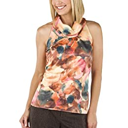 Product Image Merona® Collection Printed Cowl Neck Top - Multicolor
