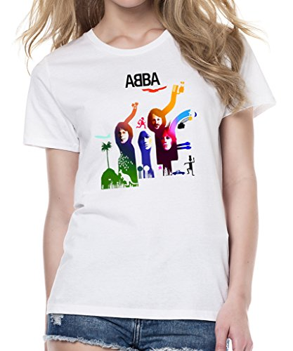 ABBA Album Cover Women's Heavyweight T-Shirt