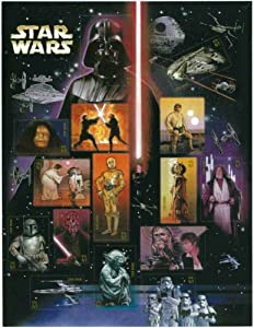 Star Wars 30th Anniversary Collectible Stamp Sheet