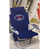Low Price For Tommy Bahama Backpack Cooler Chair with Storage Pouch and Towel Bar With Deal