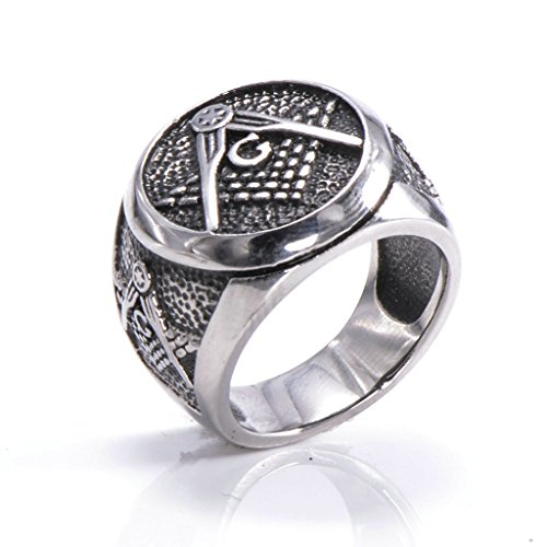 mens-316l-stainless-steel-masonic-ring-silver-comfort-fit-band-wedding-polished-unique-size-n-1-2